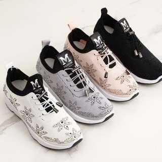 Sepatu Everest Fashion Sneakers Sewarovski 055 Semi Premium