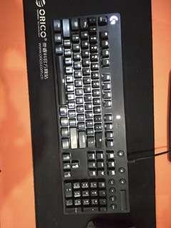 Jual keyboard logitech g610 brown switch