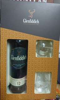 Glenfiddich 12年禮合裝