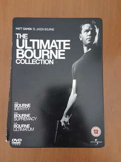 The Bourne Ultimate Collection DVD Steelbook Collectible
