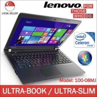 Lenovo 100-08MJ Ultra-Book 14inch Display Laptop / Notebook