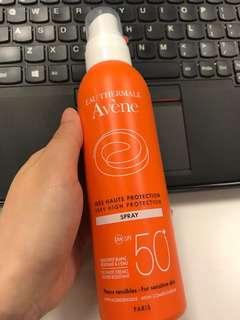 BN Avène Eau Thermale Sunscreen Spray 200mL