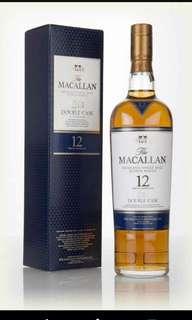 Macallan 12年 double cask