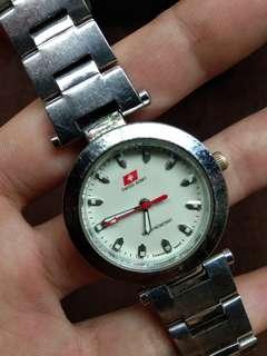 Jam tangan swiss army original diamter seuang koin 500 besar
