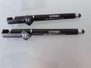 Black Gel Pens x2