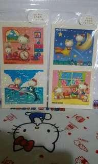 Hello Kitty 貼紙2個一套(包平郵)