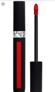 Brand New Dior Rouge Liquid 999 matte