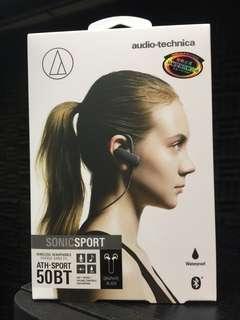 Audio-technica ATH-SPORT50BT 無線運動耳機