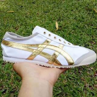 Onitsuka Tiger Slip On // Gold