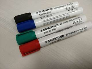 Bn 4 Staedtler Whiteboard Markers  (clearing stock)