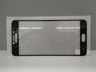 全新 Samsung Galaxy C8 全屏玻璃貼 (黑/白/金)