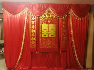 ROM DROP DOWN DECOR FOR RENT