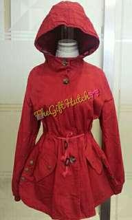 *NEW* Jacket merah hoodie Import Thailand