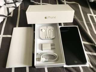 iPhone 6 Plus 64gb open line thru gpp (free gpp chip) and Free privacy Tempered glass