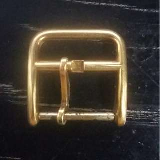 Solid 18K Hermes watch buckle {4.8g}