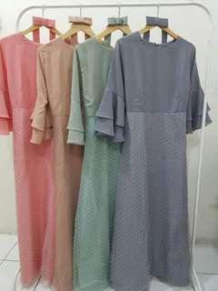Dress mix organza