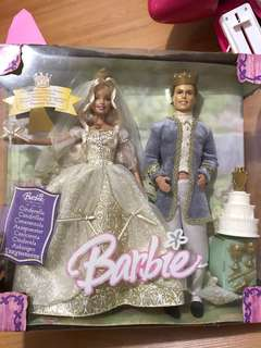 Vintage Barbie Cinderella and Ken