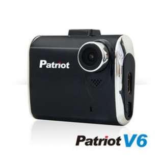 愛國者V6 新一代國民機 1080P 超夜視行車紀錄器(霧黑)+16G記憶卡