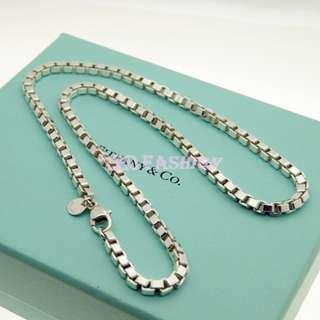 【LEO FASHION】二手正美品 Tiffany & Co. 經典威尼斯項鍊