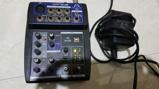 Wharfedale pro Connect 502 mixer