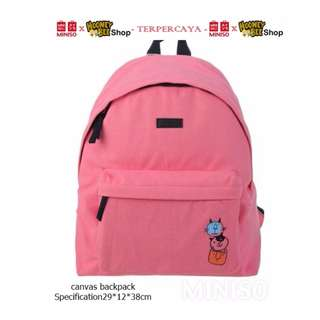 Japan Quality - Tas Ransel Kucing Miniso Import Cat Backpack Canvas
