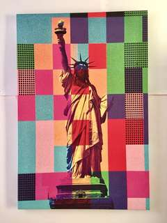 Hugh Canvas Statue of Liberty