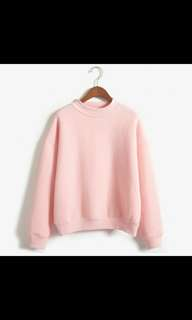 instock Pink Pullover