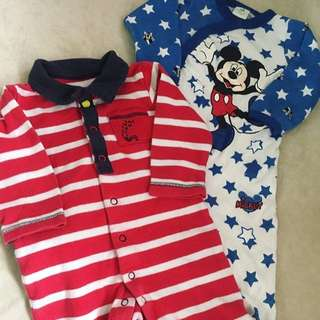 Marks And Spencer / Disney Baby Sleepsuit 3-6m