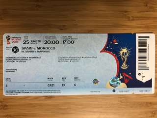 World Cup2018 Spain v Morocco