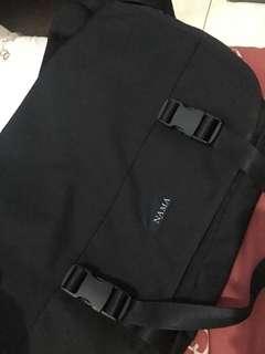 NAMA tas hitam selendang #mausupreme