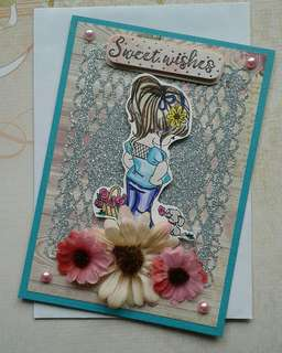 Handmade Card: Sweet Wishes
