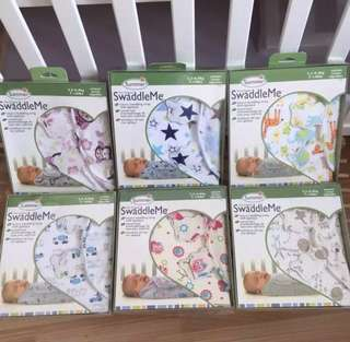 Ready Stock - Summer Swaddle Me baby Swaddle