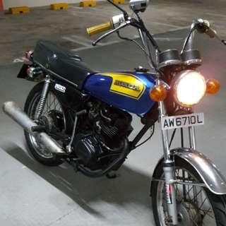 CG125 1979