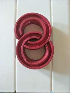 AMT red D-type car shock  absorber buffer/ spring bumper/ power cusion buffer