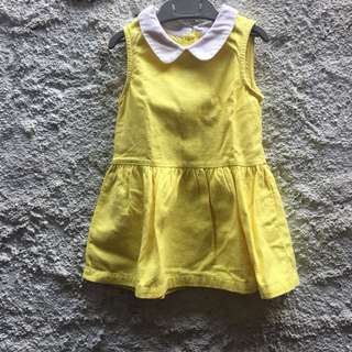 Gingersnaps Yellow Dress 24bulan