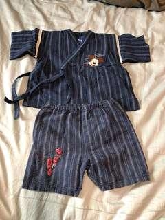 🚚 日本Disney和服睡衣