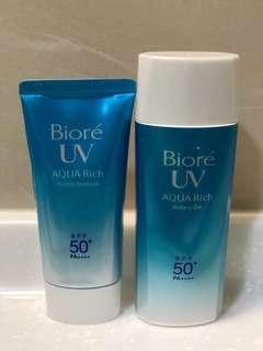 🚚 Biore 含水防曬清透水凝乳/露