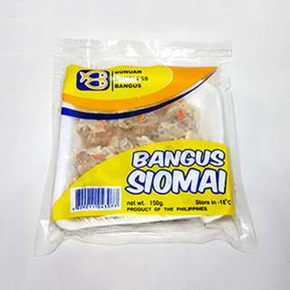 Bonuan Boneless Bangus - Siomai (150g) Pack