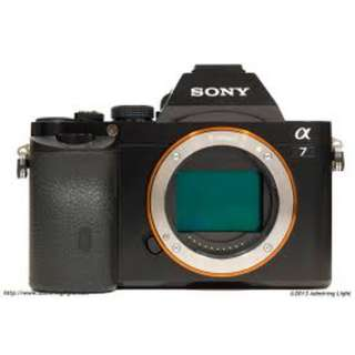 Sony a7 (Body only) + 64GB SD card, 4 batteries and strap