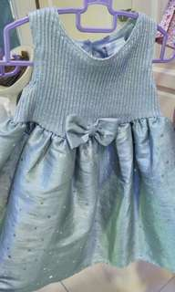 Dress princess 18mth grey