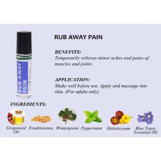 Rub Away Pain (10ml) - ADULT ONLY