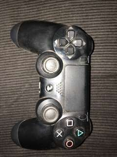 PS4 game and a controller