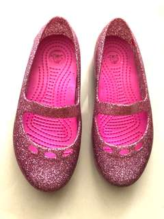 Crocs Carlisa Glitter Carnation Pink
