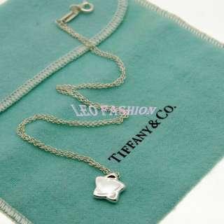 【LEO FASHION】二手正美品 Tiffany & Co. 星星吊墜項鍊