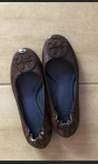 Auth Tory Burch Reva Flats Size 5