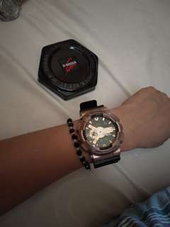 Casio Limited Edition G-Shock Gold Black series