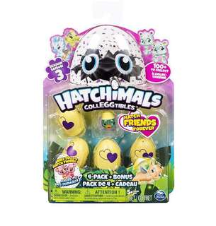 NEW SEASON! Brand new Hatchimals SEASON 3 4+1 pack (Style varies)