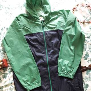 REPRICED! Green Raincoat -jacket type