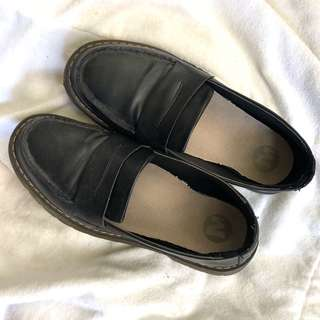 🚚 GD款英倫黑色小皮鞋
