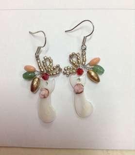 Handmade cat's earring